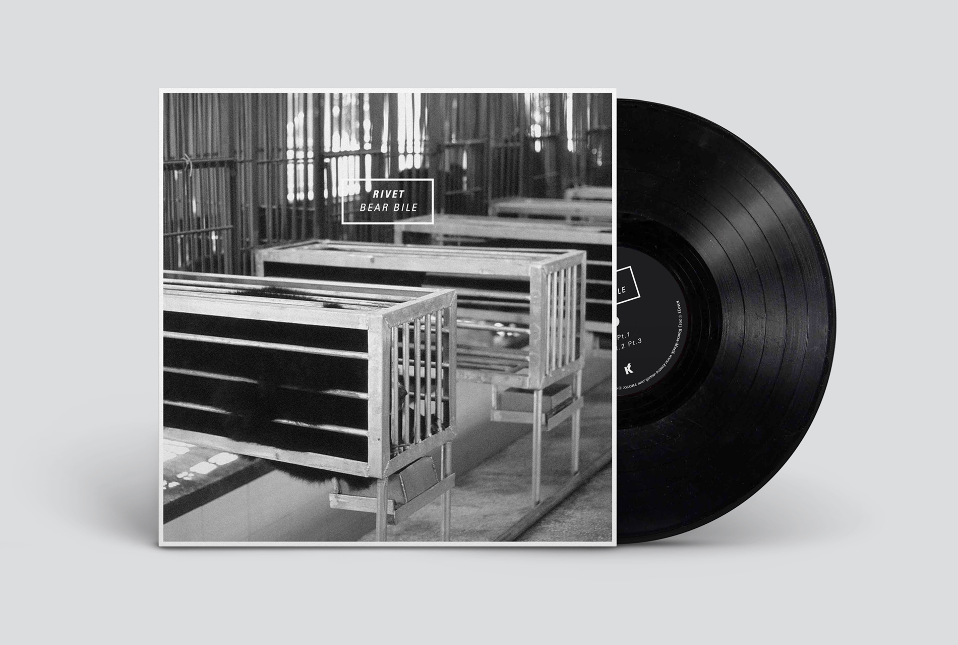 Rivet »Bear Bile« EP [KM033], front.