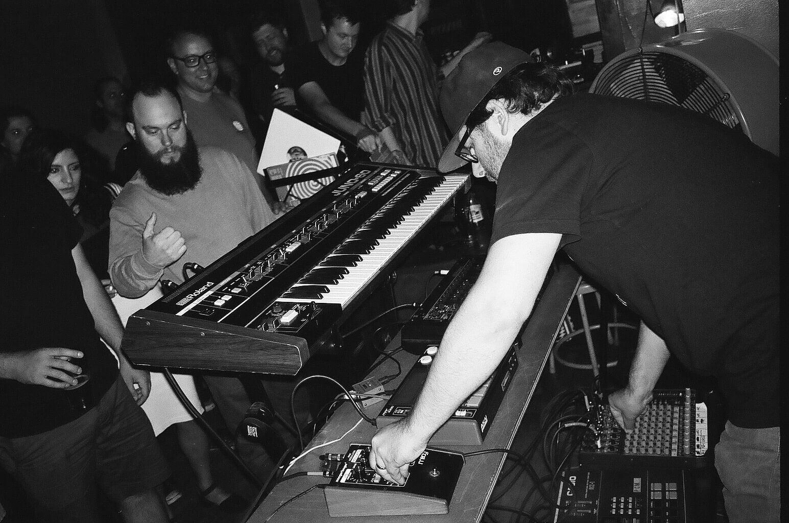 MAGAS live at H.O.T.H. at Danny's Tavern, Sept. 2015. Photo by Bobby Burg