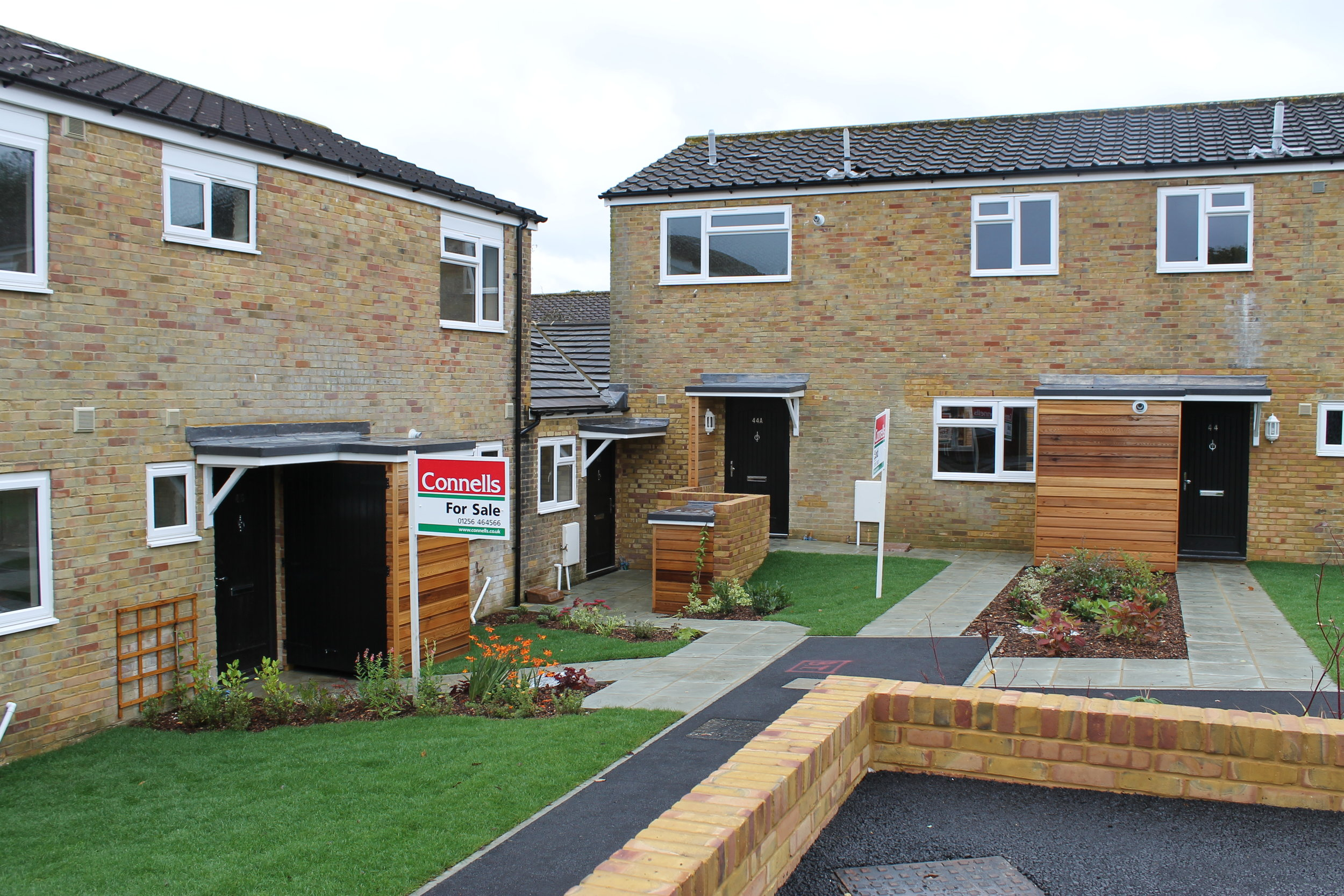 5 Plot Refurbishment of Ex-Council Property in Basingstoke