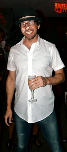 Russ Terry, Life Coach  Me at my 40th BDay Bash