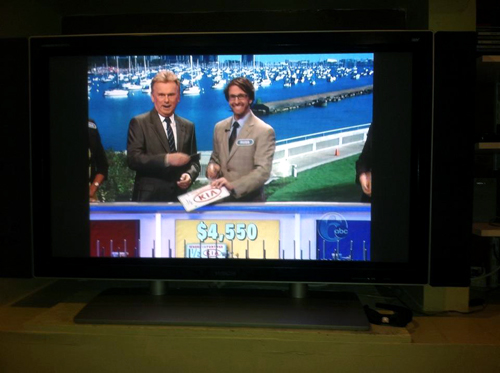 Russ Terry, Life Coach  Me & Pat Sajak on Wheel of Fortune