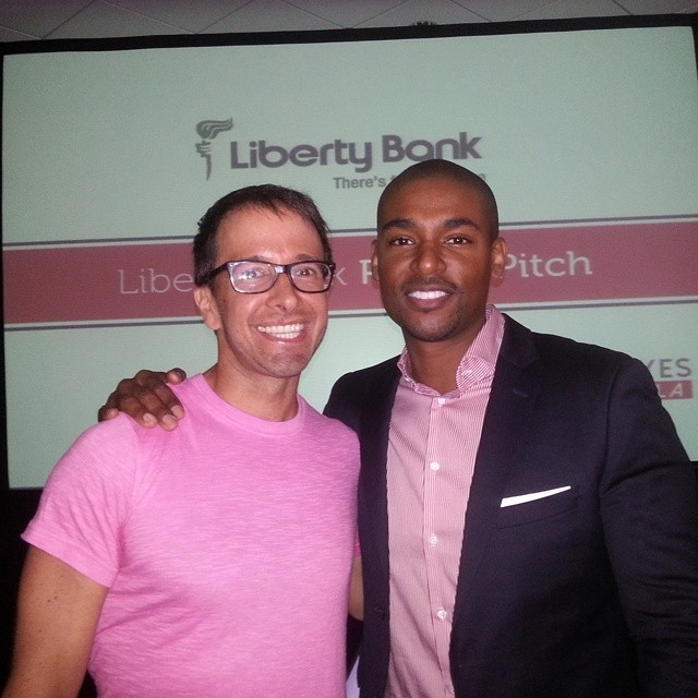 Me with Paul Carrick Brunson, Host, Our World with Black Enterprise