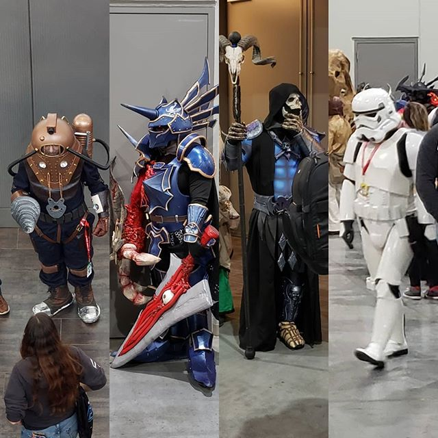 Arctic Comic Con is going off! This is barely a fraction of the cosplayers knocking it out of the park today. Don't miss it!