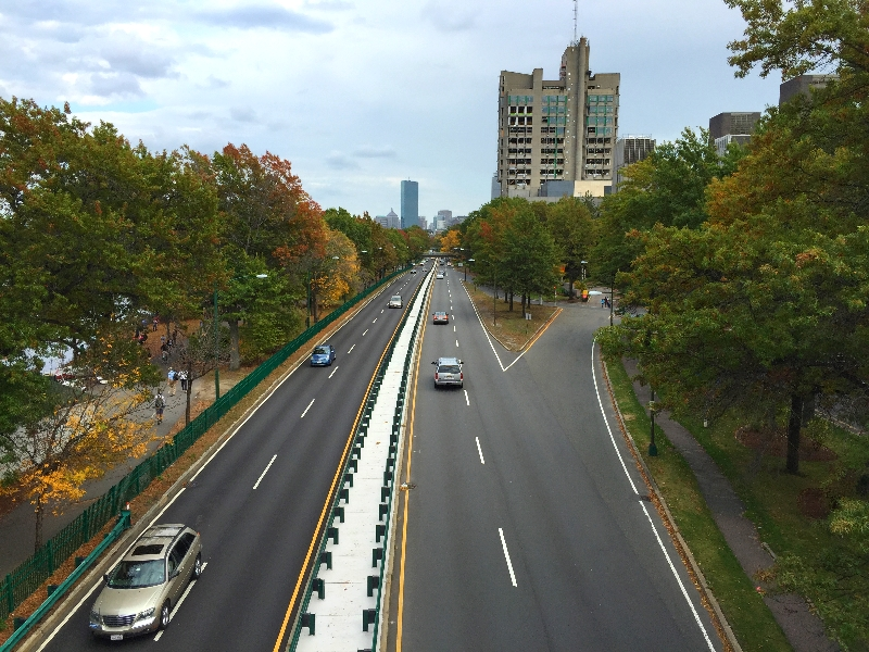storrow drive without traffic (sonya kovacic)