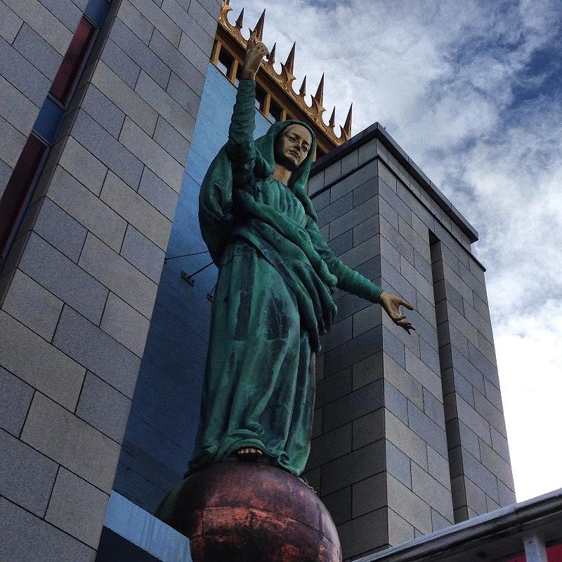 madonna queen of the universe shrine, east boston(mattybonez69)
