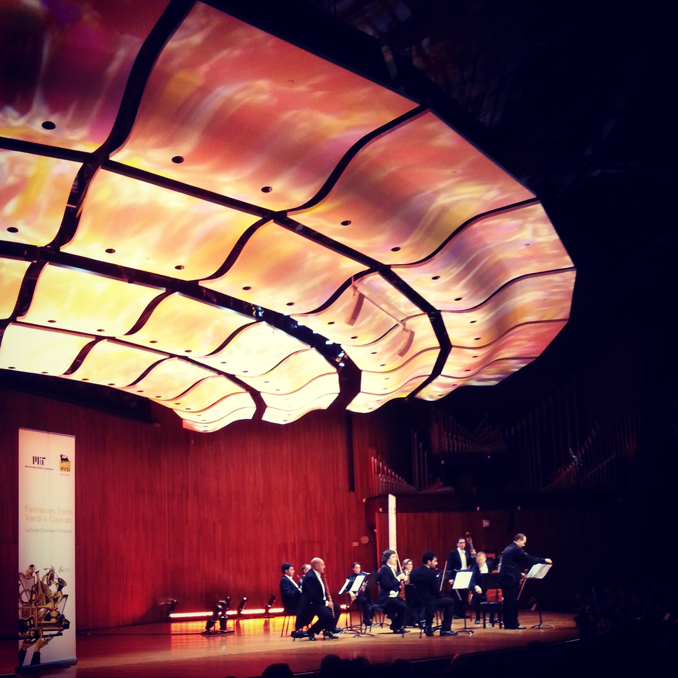 Teatro alla Scala Chamber Orchestra performing at MIT (sonya kovacic)