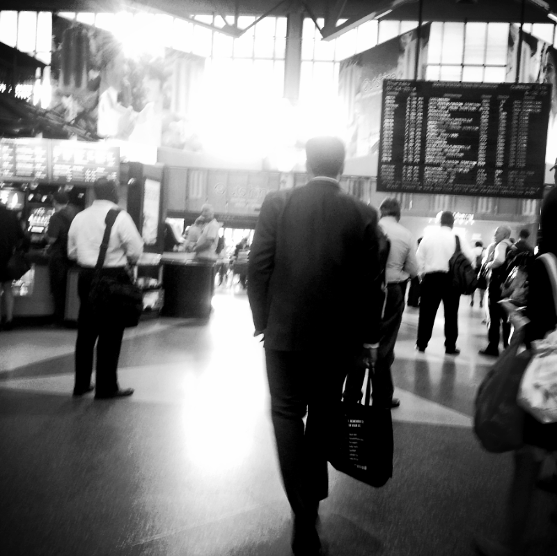 south station, heading home (sonya kovacic)