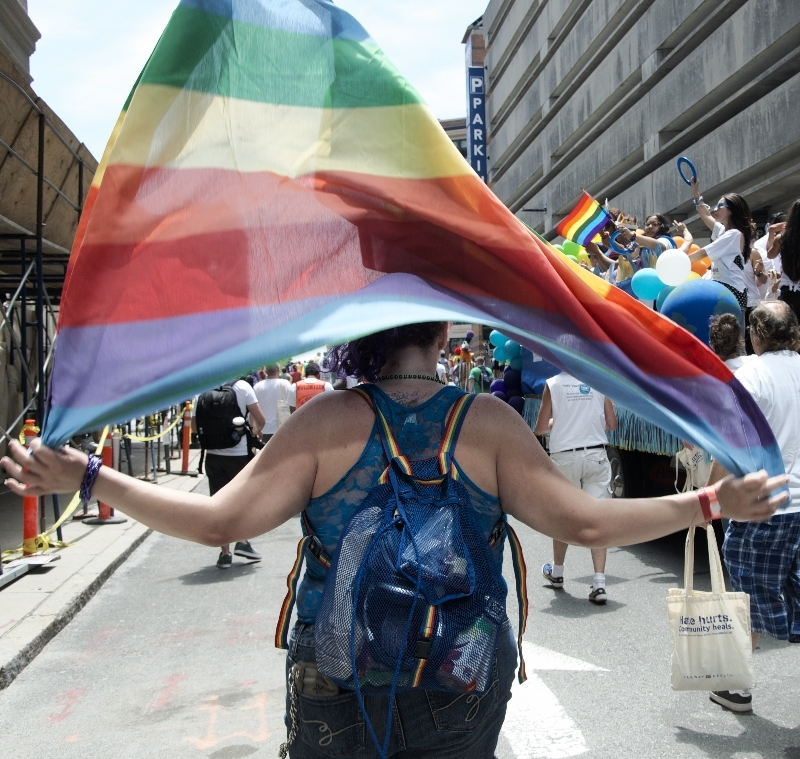 boston's pride parade  (sonya kovacic)