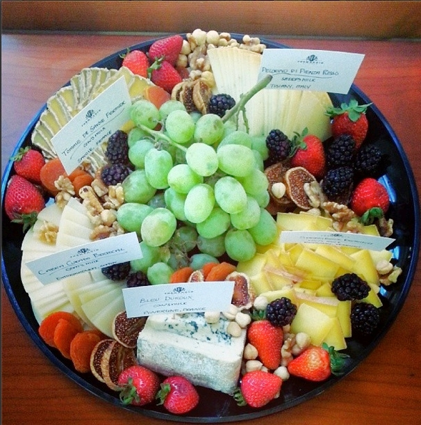 cheese plate from formaggio kitchen  (sonya kovacic)