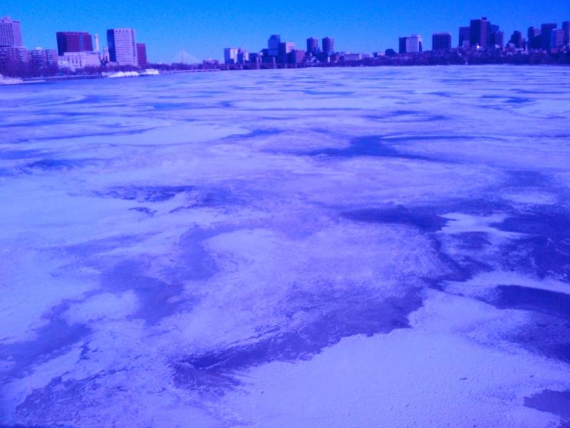 a colder time, charles river  (sonya kovacic)