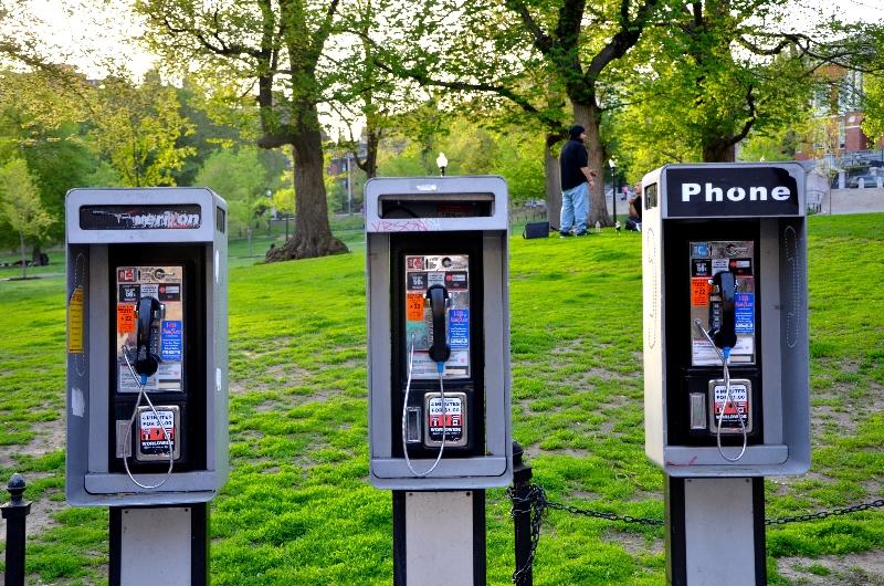 payphones, boston common (sonya kovacic)