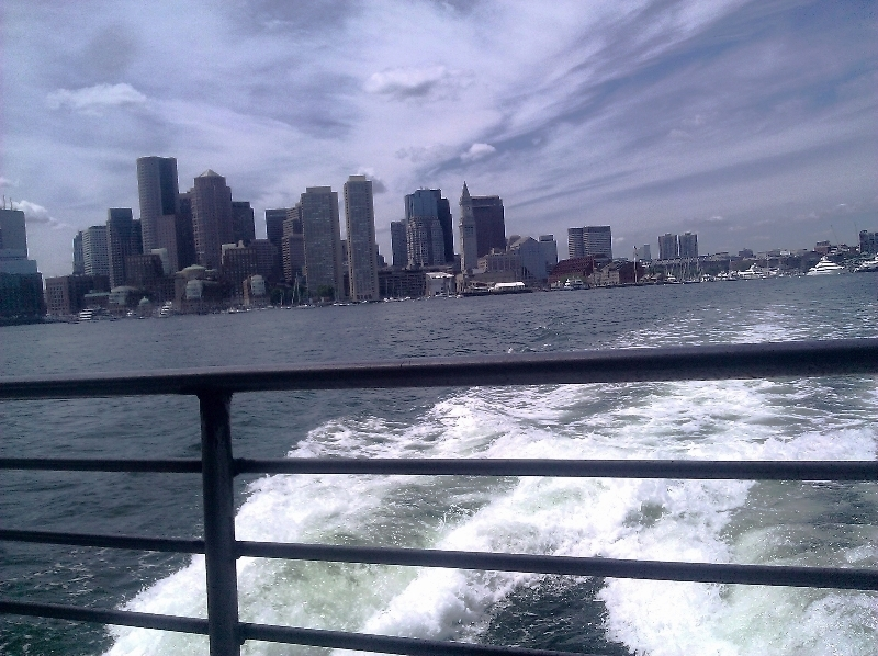 ferry to the harbor islands  (sonya kovacic)