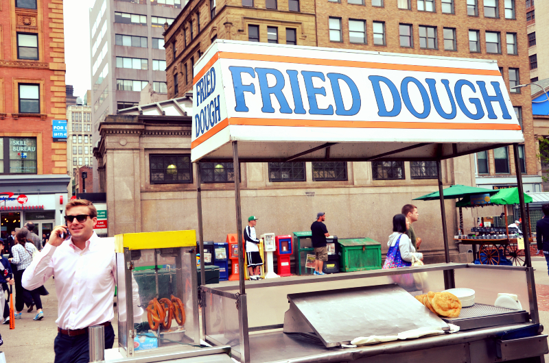 daddy's fried dough outside park station   (sonya kovacic)