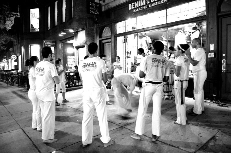 capoeira, newbury street  (sonya kovacic)