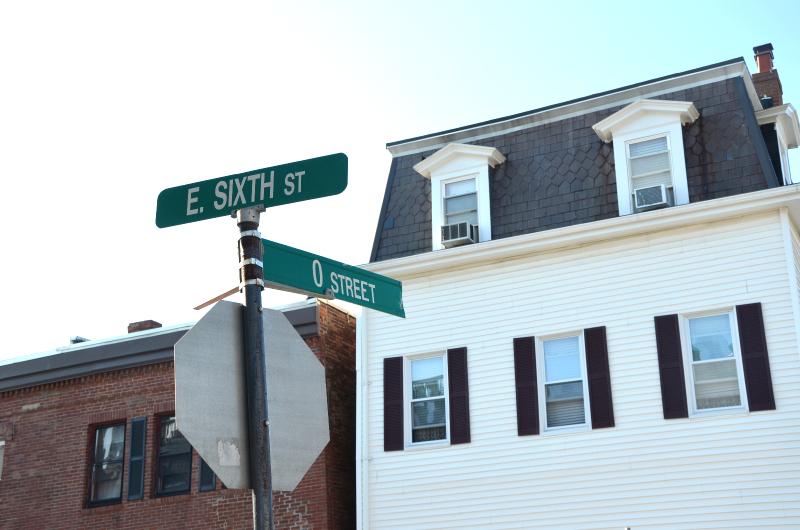 intersection, south boston  (sonya kovacic)