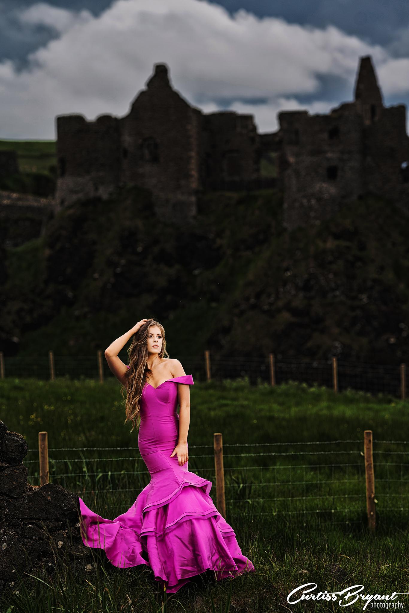 dunluce castle portrait