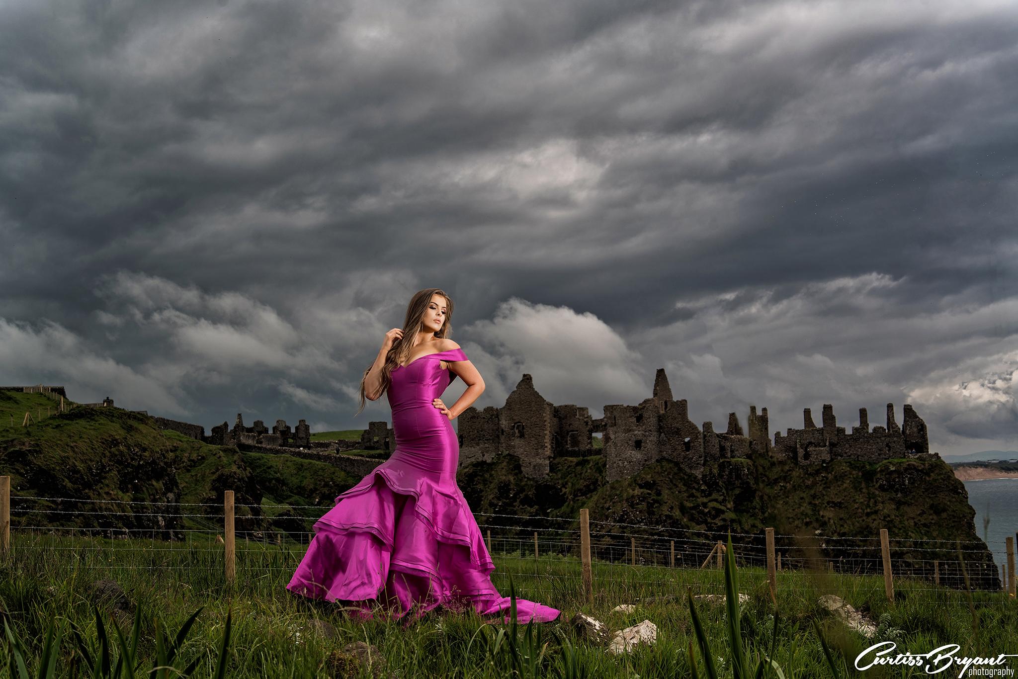 dunluce castle portraits