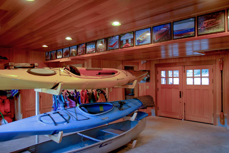 Custom Boat House Construction, New Hampshire