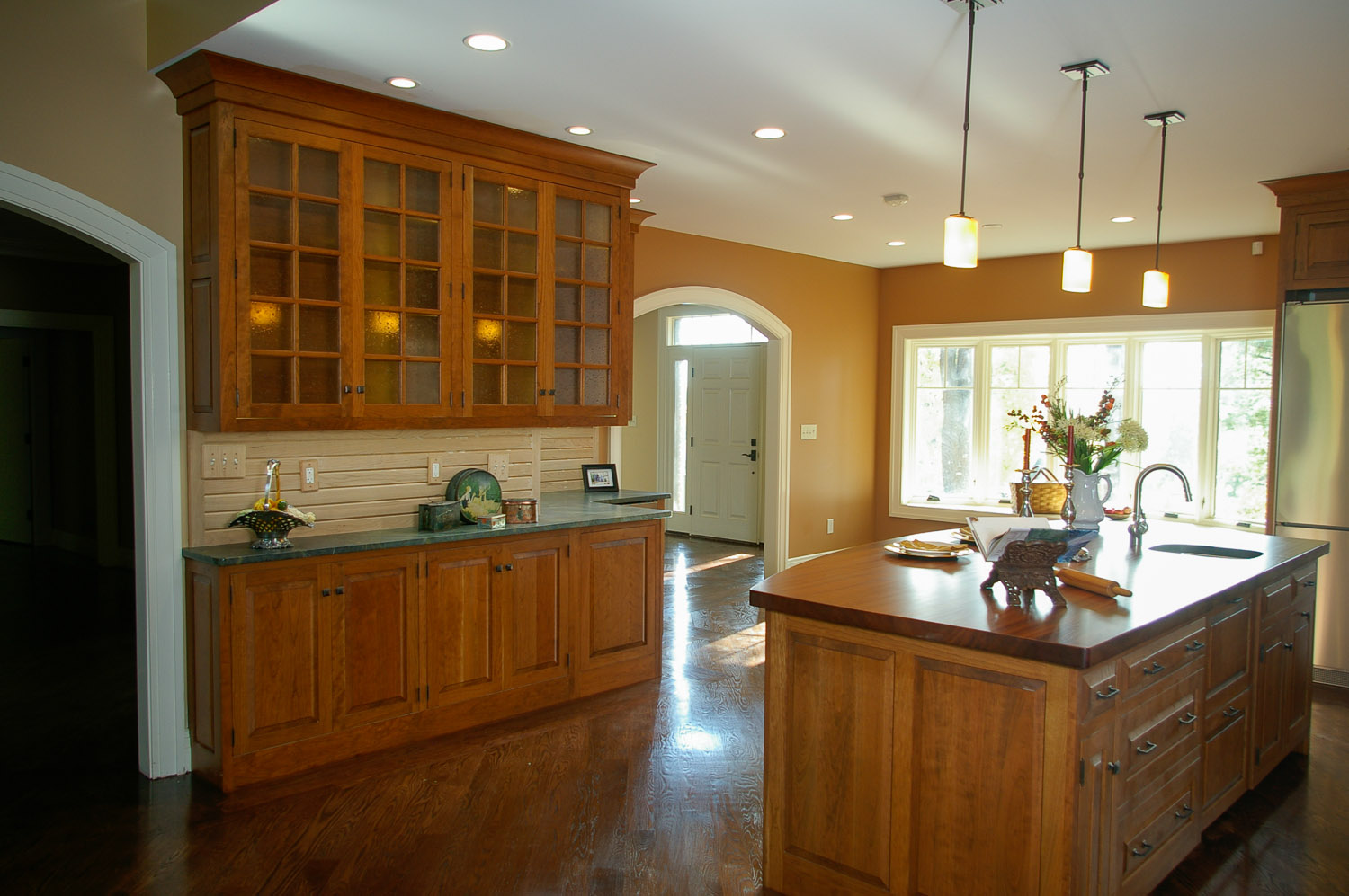 Quality matters when choosing kitchen cabinets. Think of them as furniture used every day in a harsh, wet, hot environment.