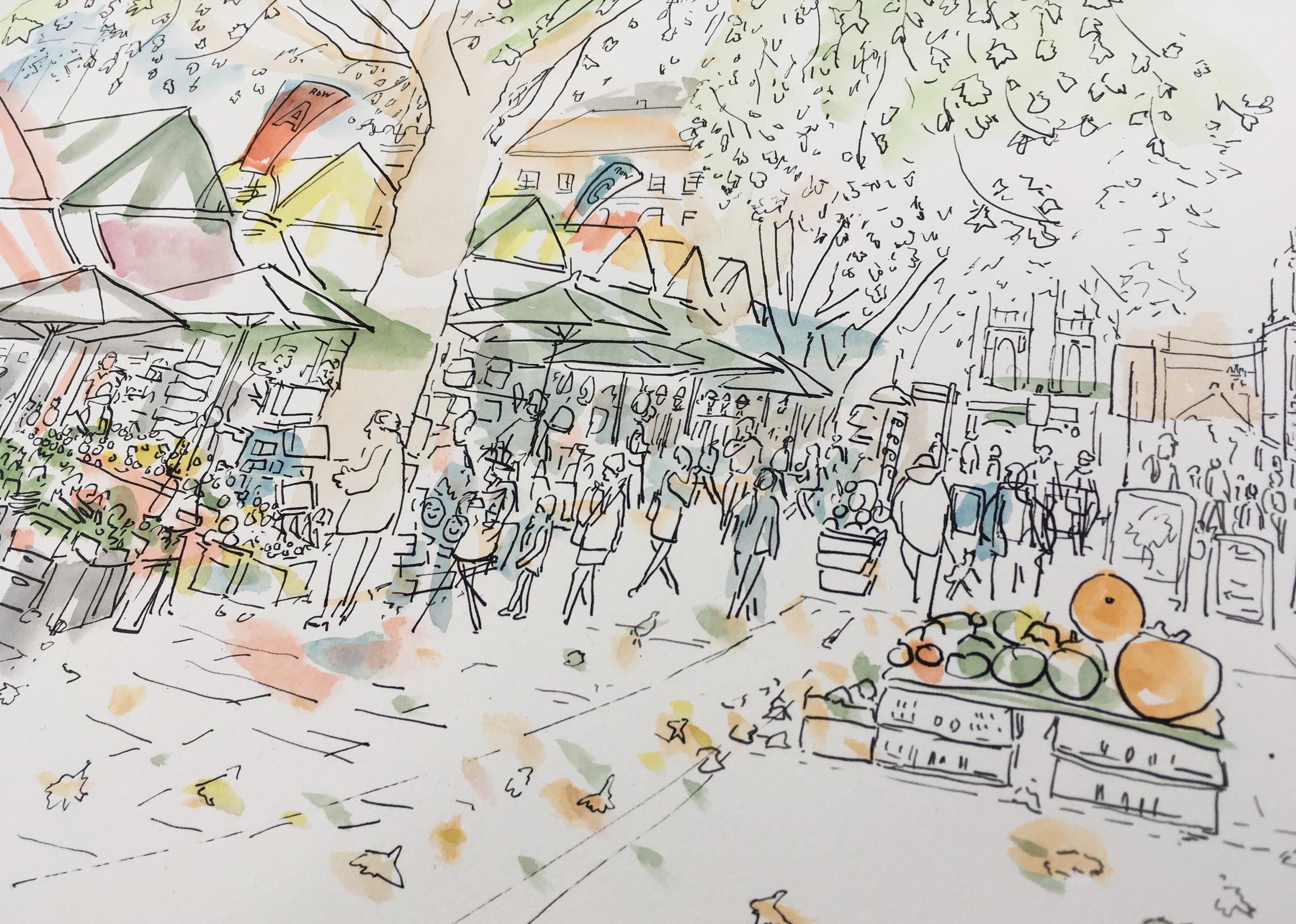 Detail of Norwich Market