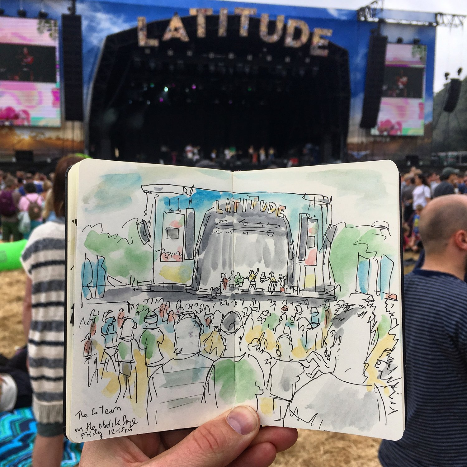 Latitude Festival Sketchbook 2018