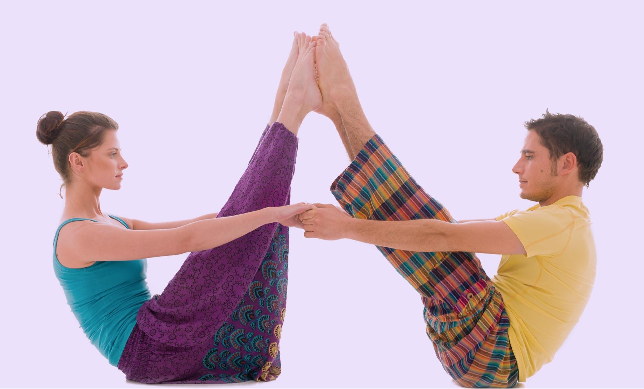 balance, equinox, partner yoga