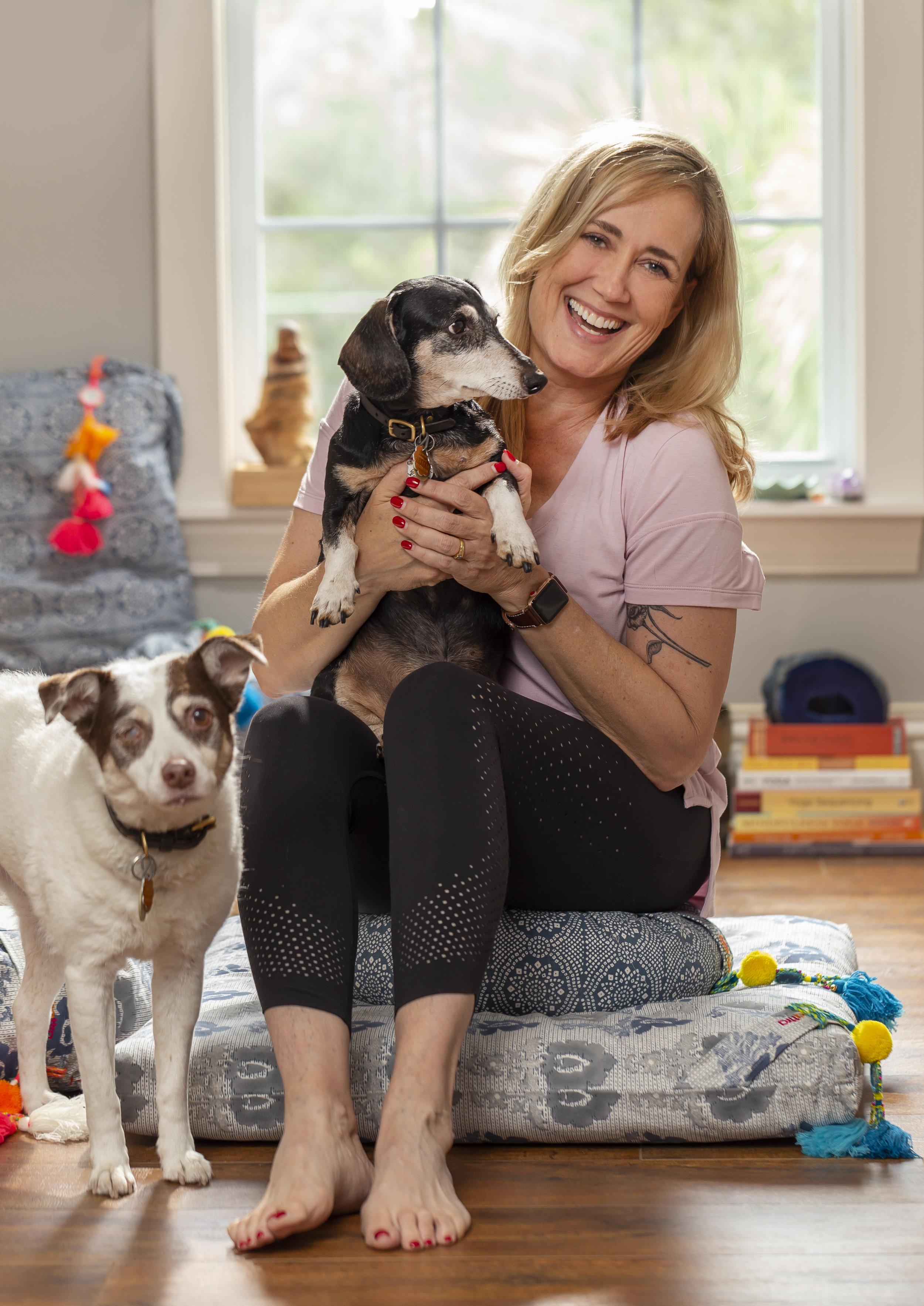 Stacy DiGregorio Bean Lily Dogs Meditation Teacher.jpg