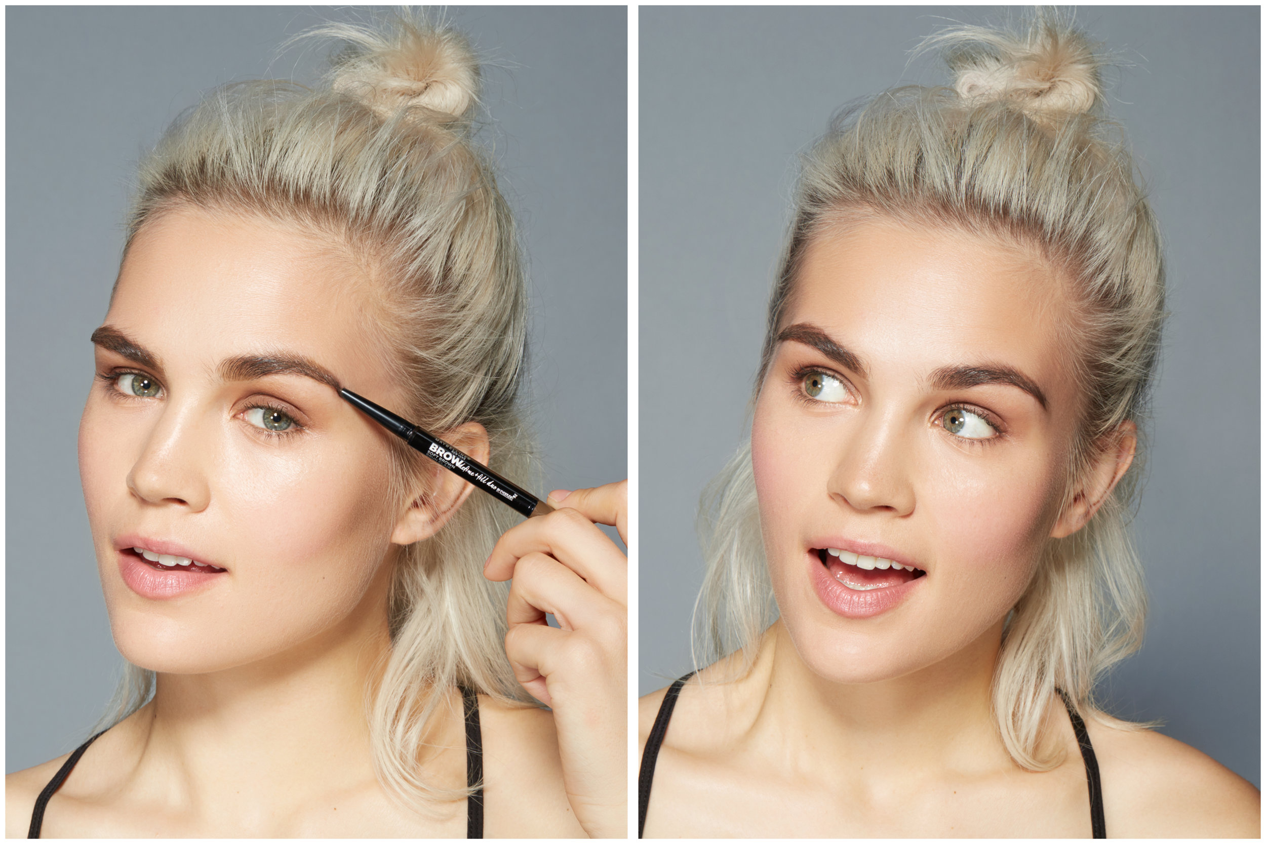 Maybelline brow campaign , 2016