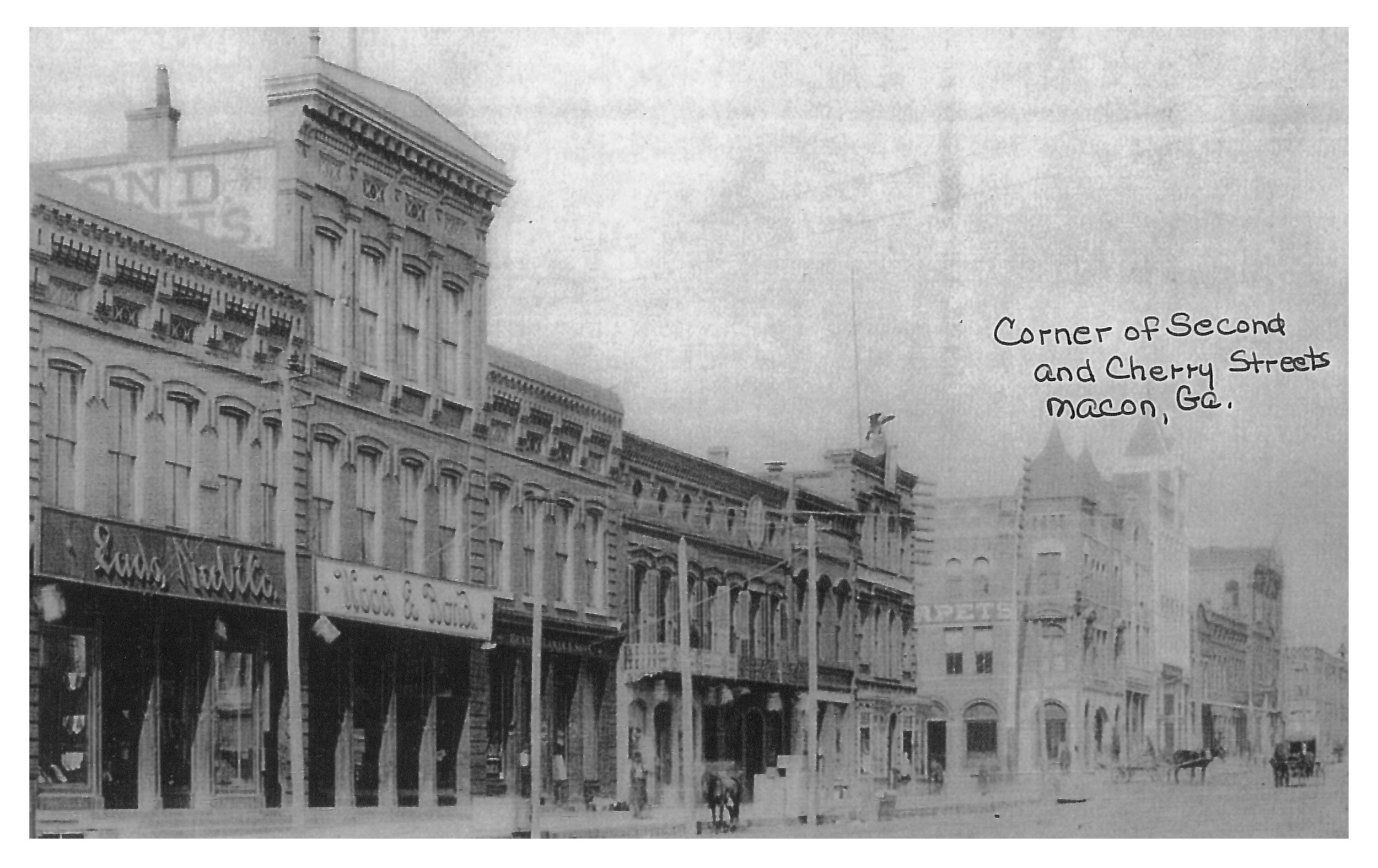 Historic photo of Downtown Macon