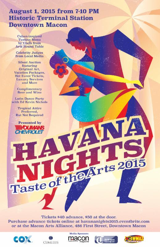 Taste of the Arts: Havana Nights