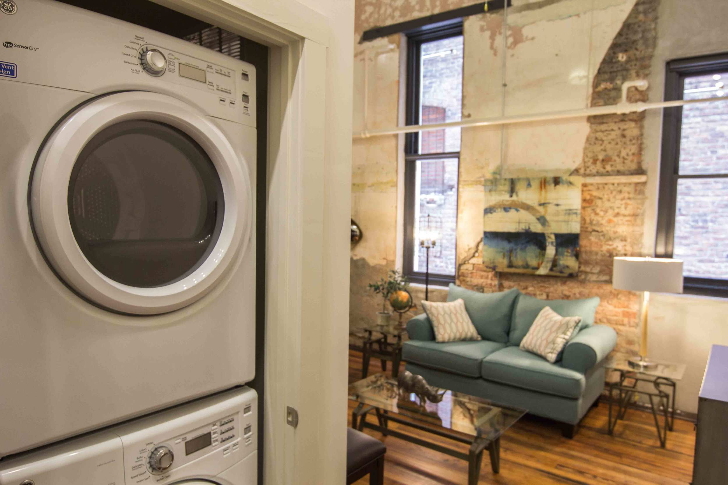 High-Efficiency Front-Load Washer & Dryer