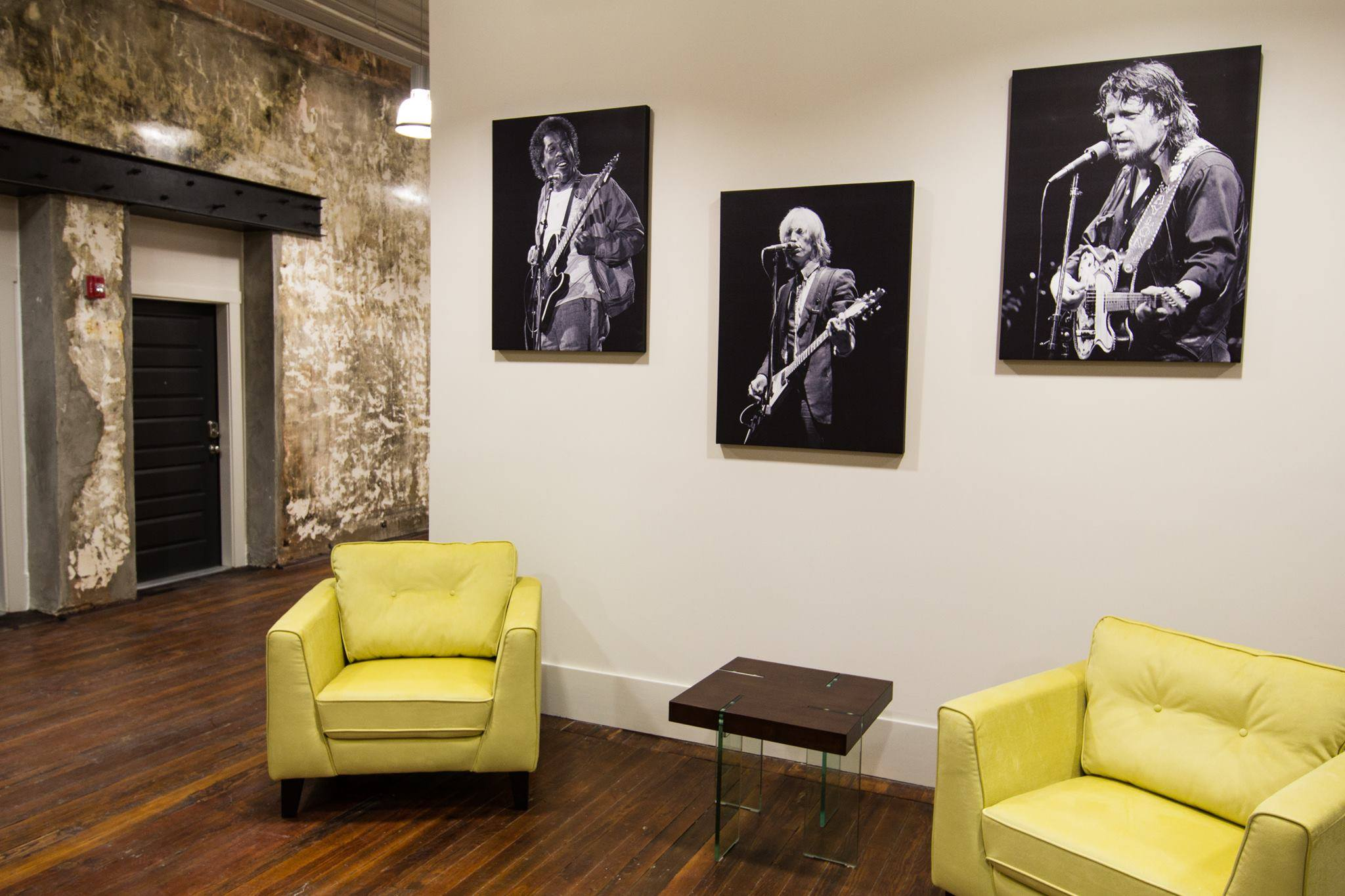 Kirk West's photography in The Lamar lobby