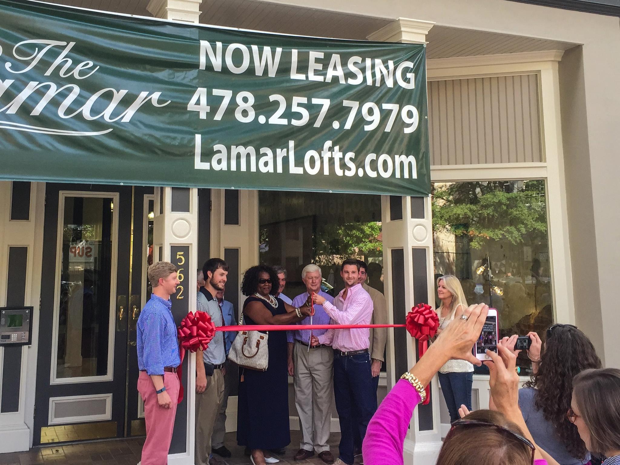 The Lamar Grand Opening