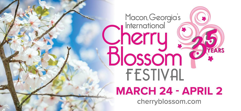 Cherry Blossom Festival Macon GA