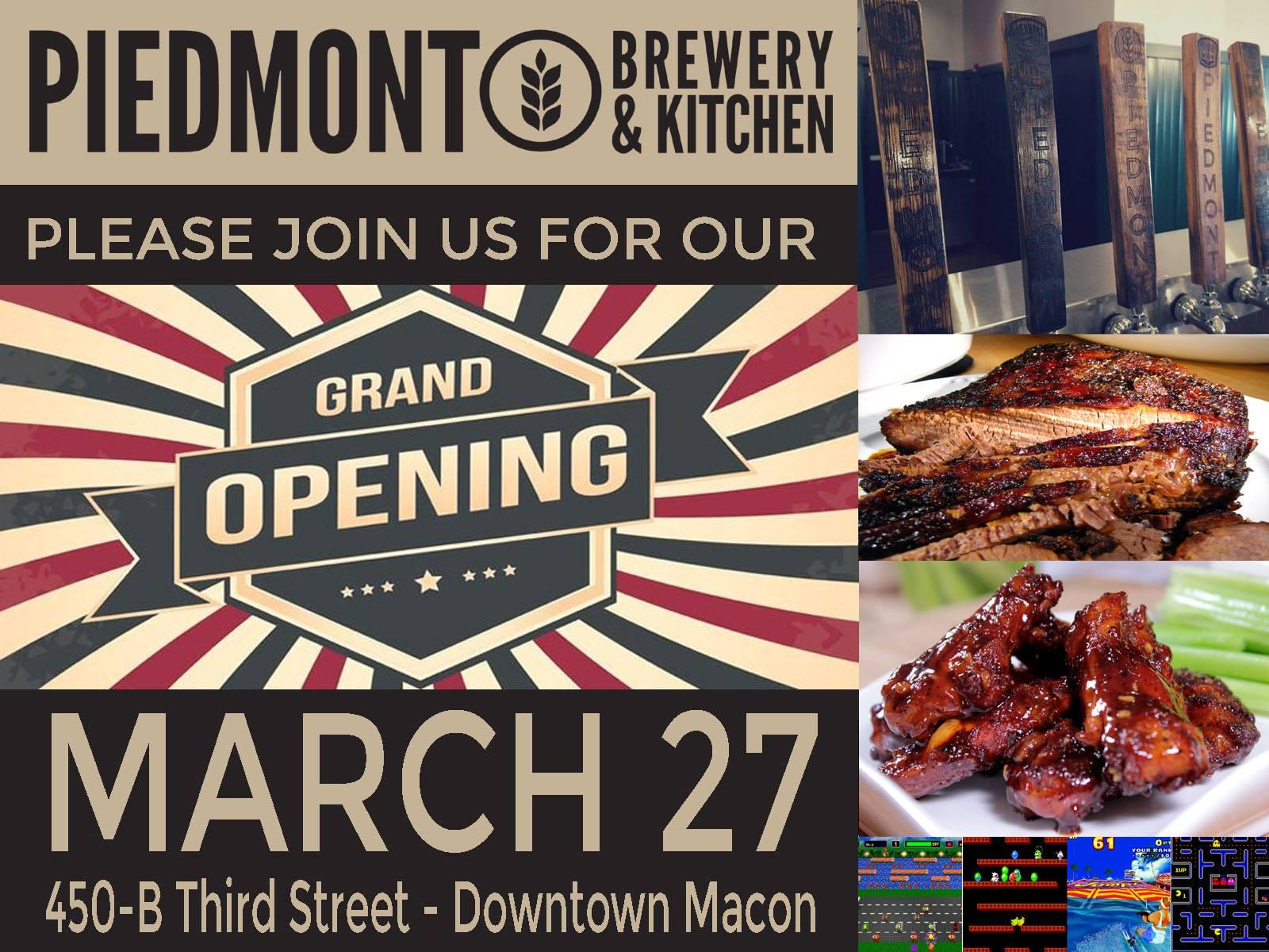 Piedmont Brewery & Kitchen Macon GA