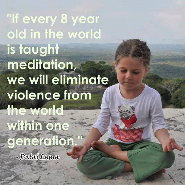 """Visit """"SHOP"""" to pu rchase Kids Can Meditate Too ! A guided meditation just for children."""