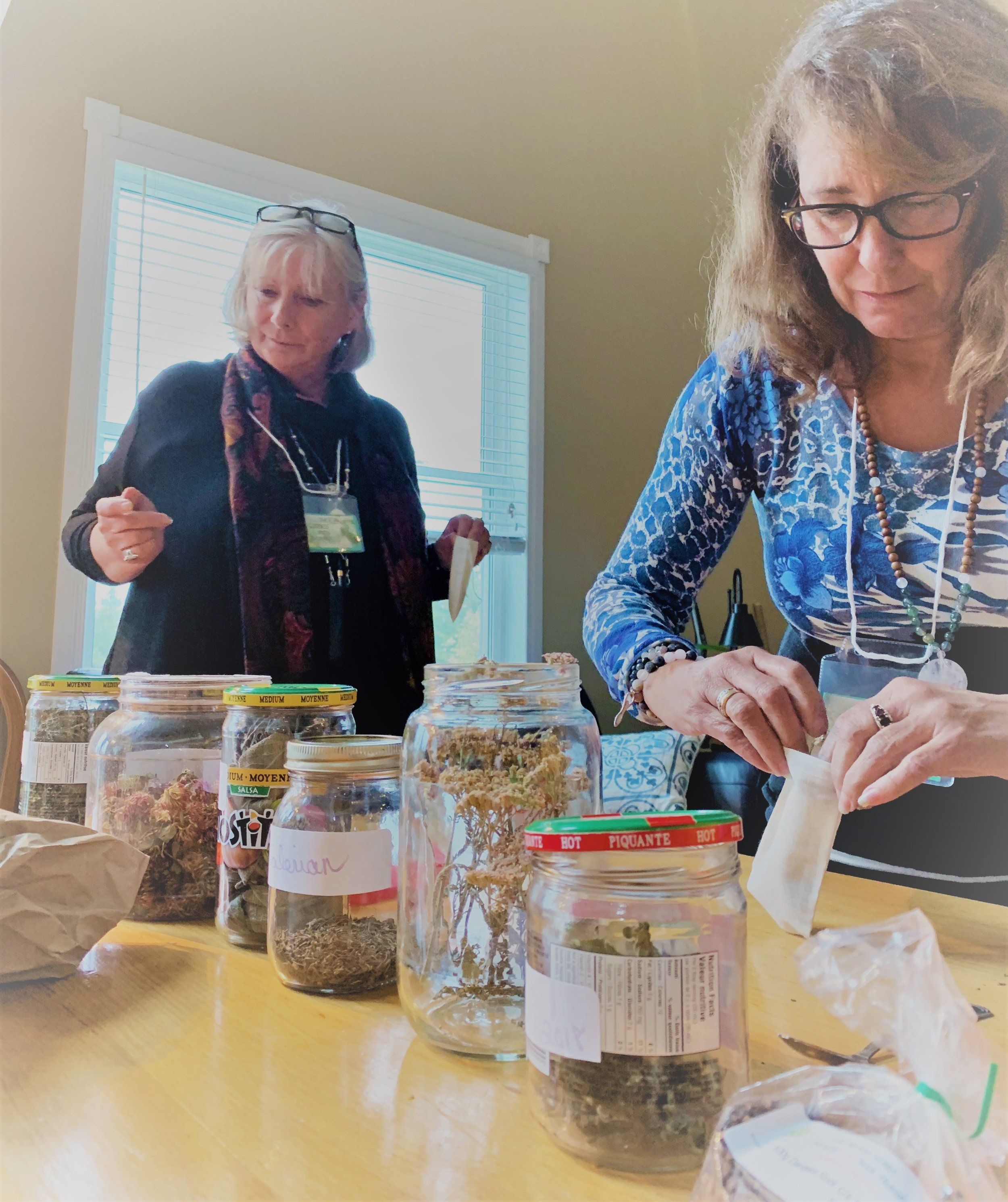 "Connect to Mother Earth through herbs and blending teas.    ""I liked having handouts so I was able to be in the present knowing I didn't need to take notes or record anything as the info was provided."""