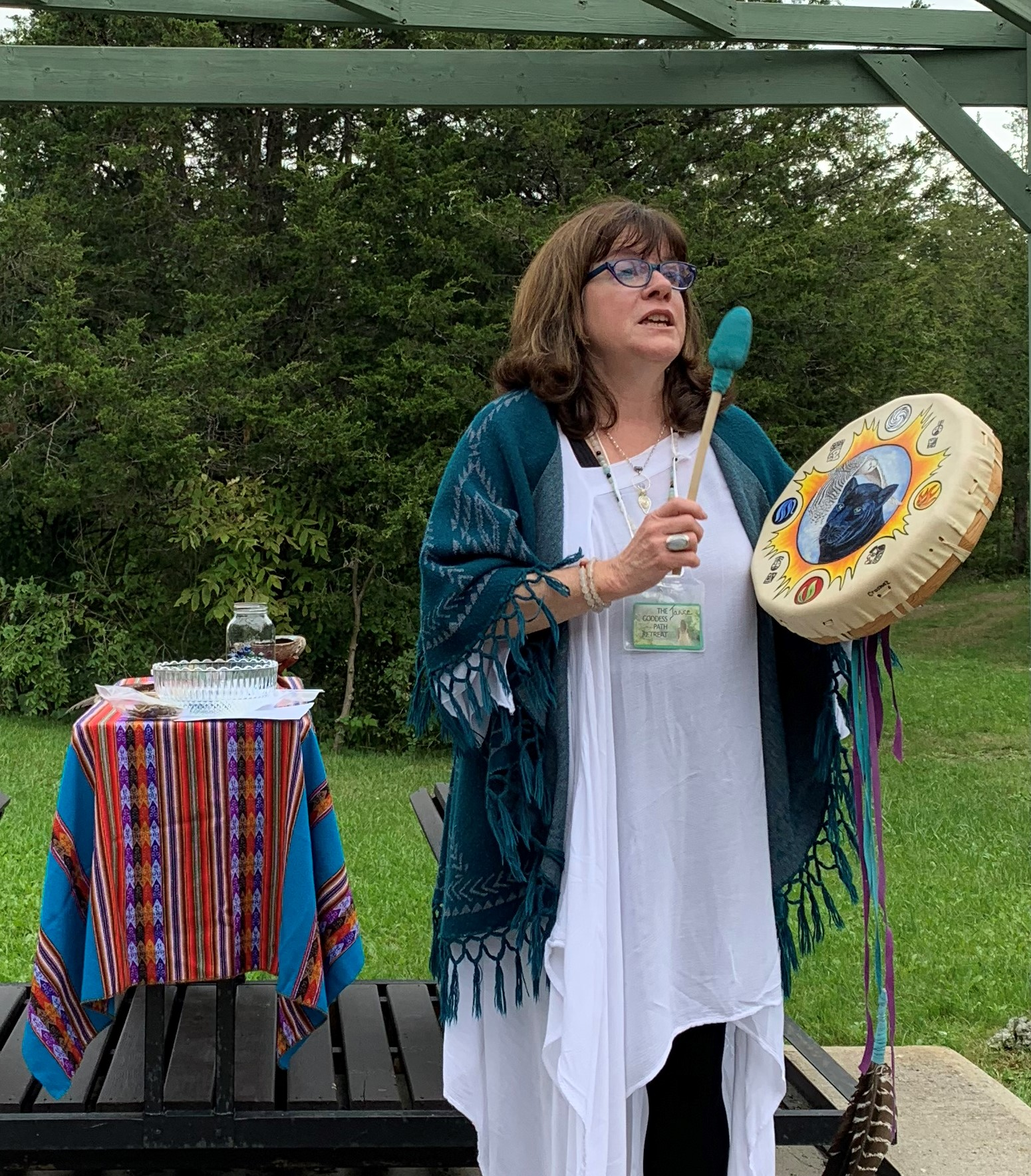 "Ceremony, meditations to prepare you for the Goddess Path walk.    ""The Goddess Path was amazing. Receiving my Goddess Name was very empowering."""