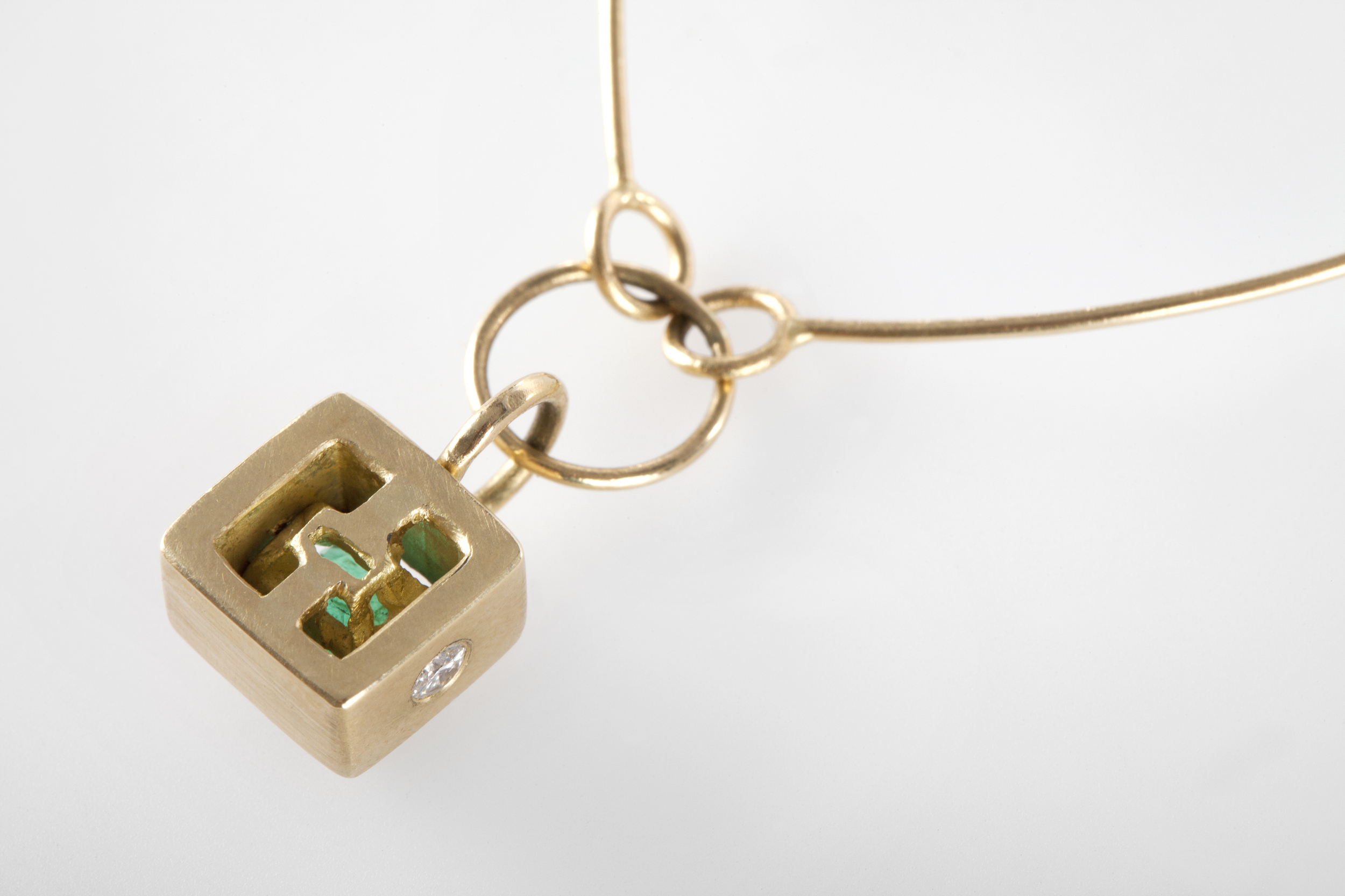 Katie's Necklace - detail