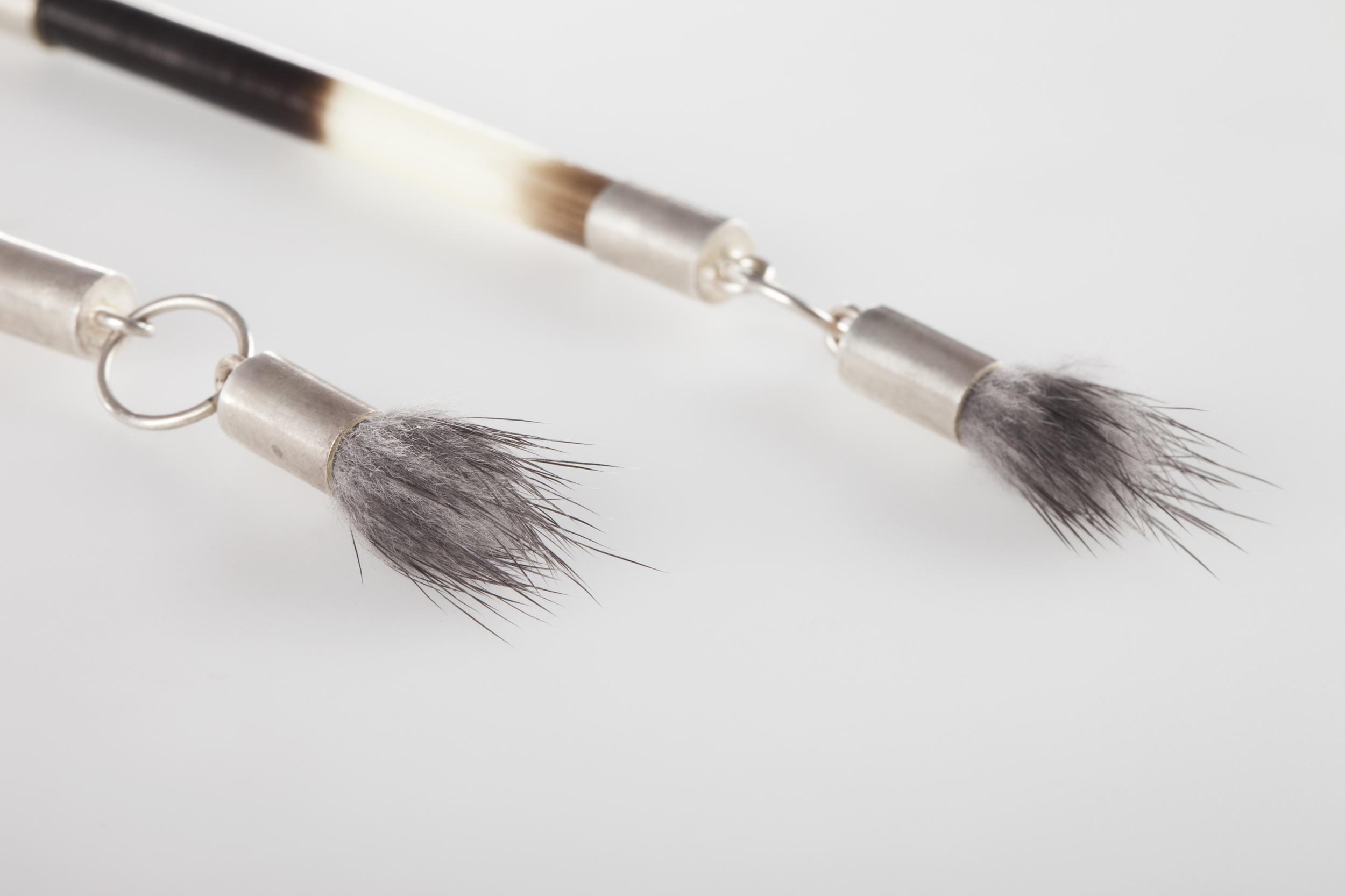 Mink + Quill Earrings