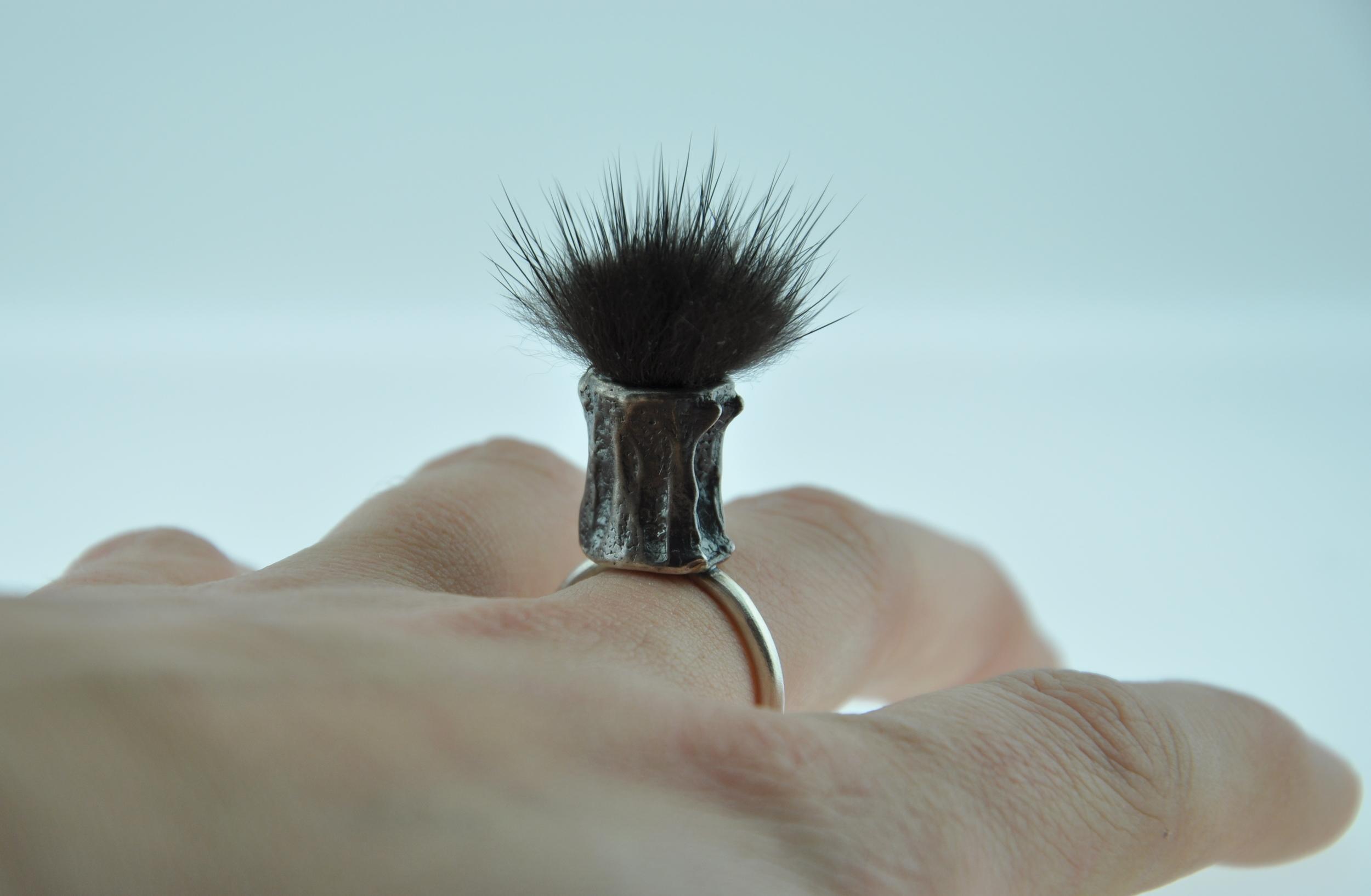 Vertebrae + Mink Ring