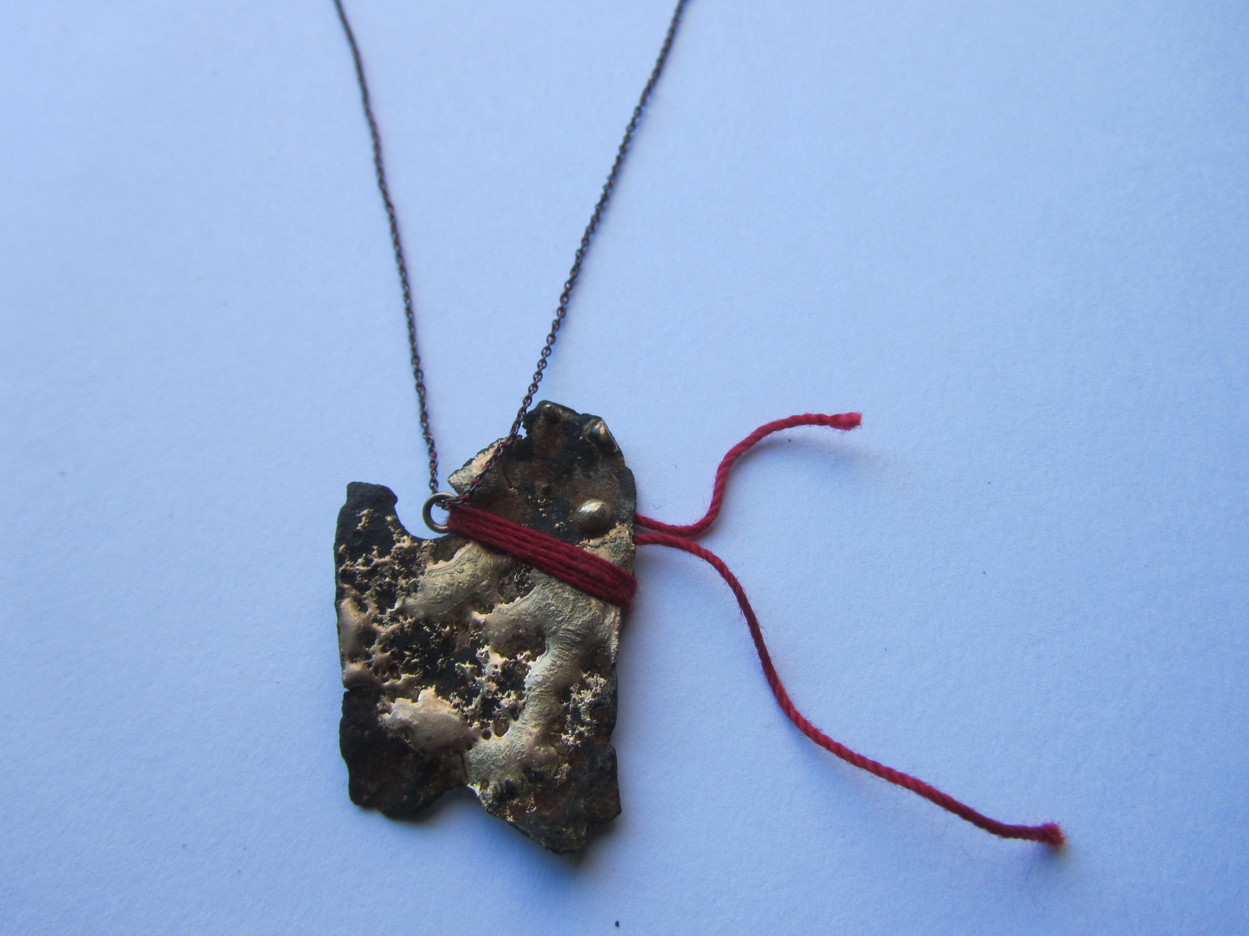 Steel Shard Necklace