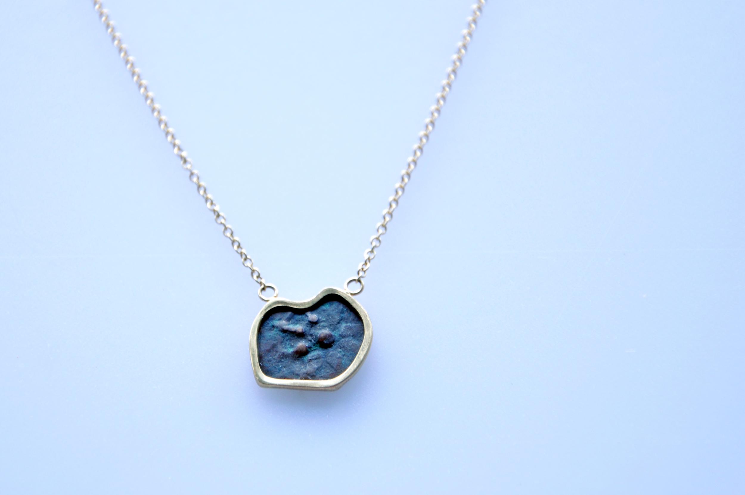 Widow's Mite Necklace - detail