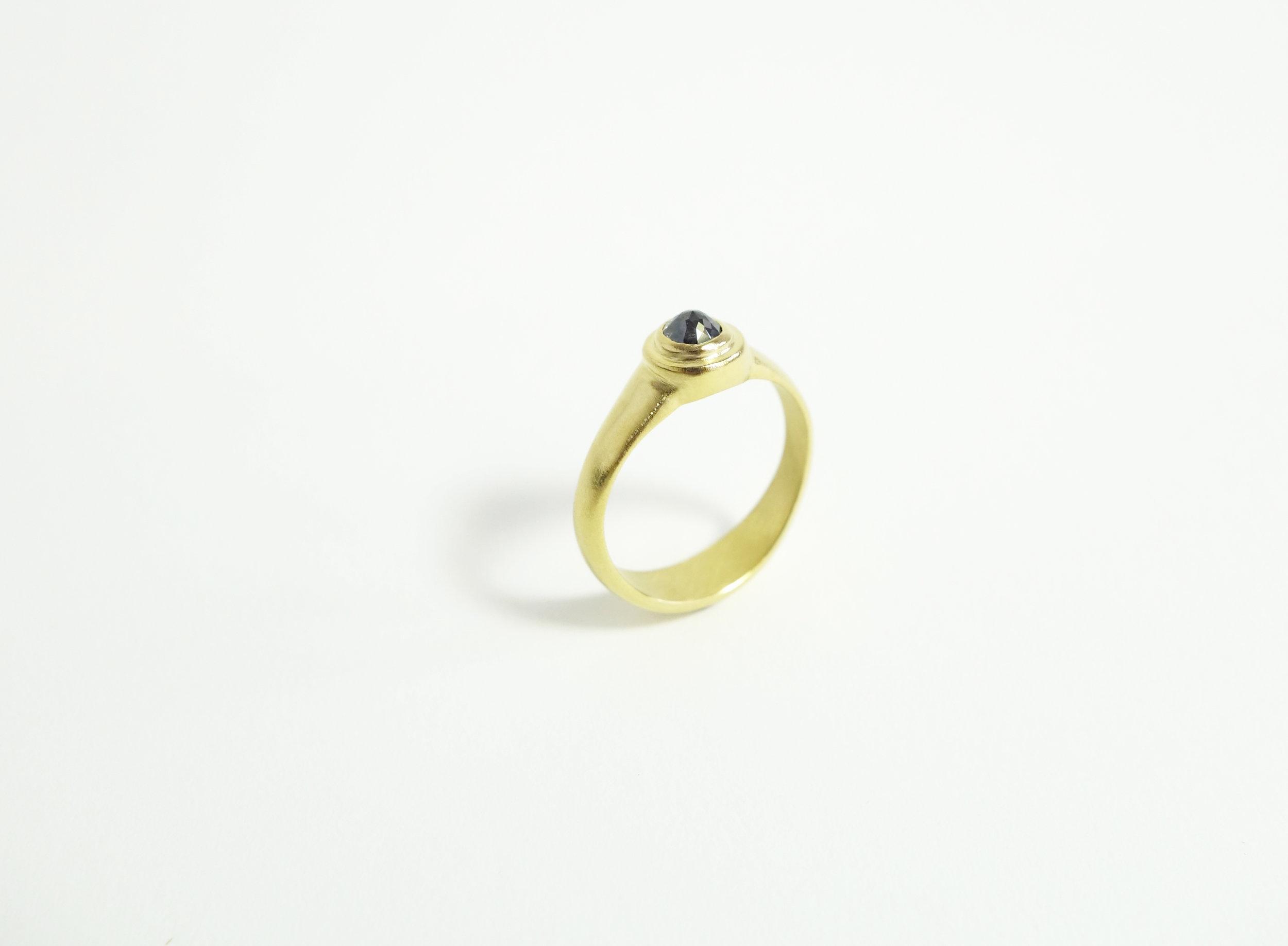 B & G Engagement Ring