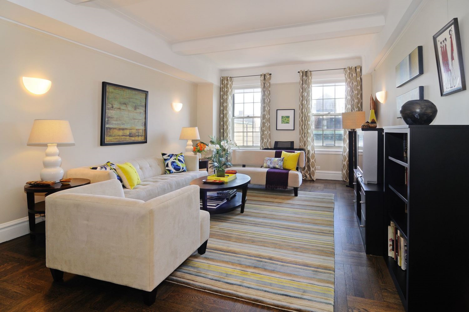 Living Room After Manhattan Staging