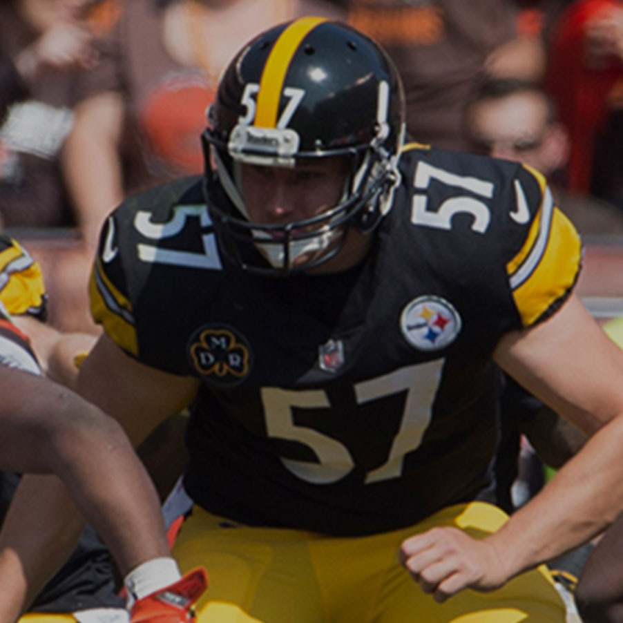 <strong>Kameron Canaday</strong><p>Pittsburg Steelers</p>