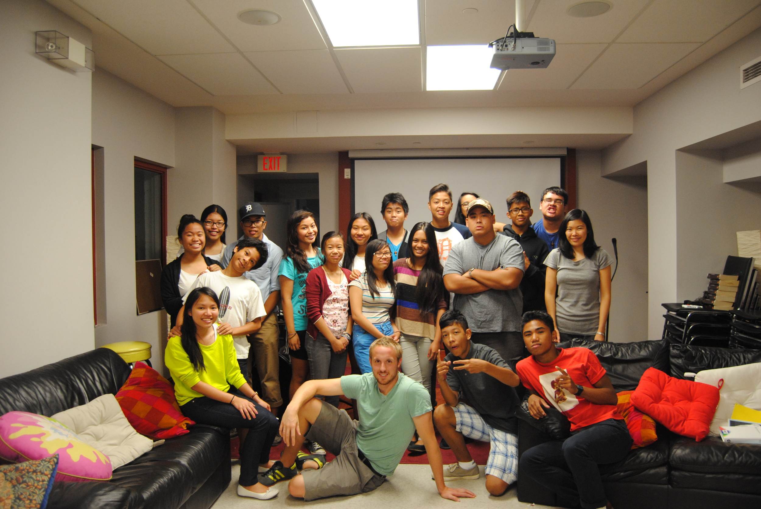 Summer interns and teens – our summer TCM Family   Picture by Charmaine Pasadilla