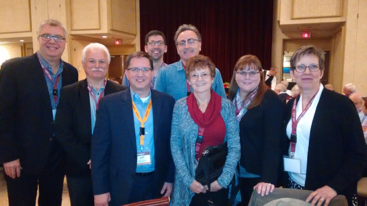 Making great connections with fellow ministry leaders at The Pursuit 2016