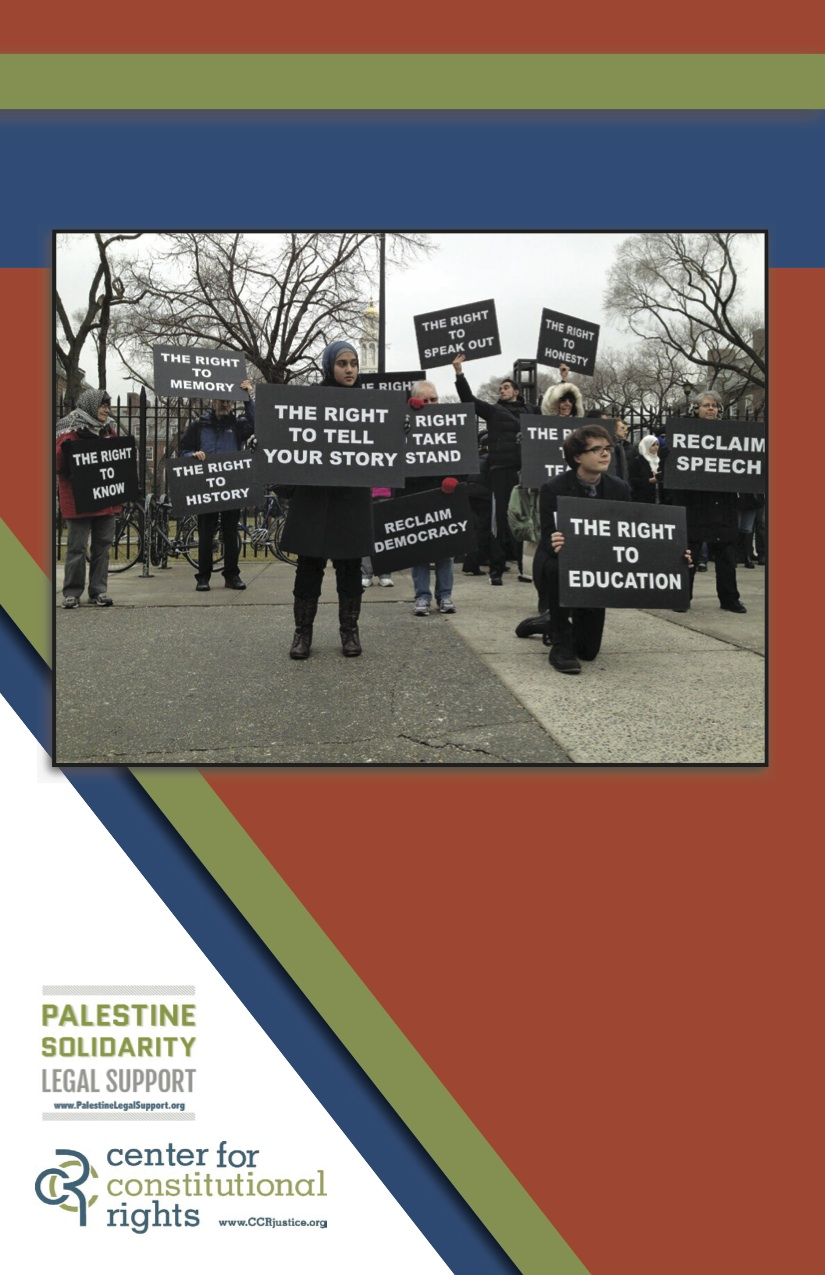 Palesinian Human Rights Advocacy - last page