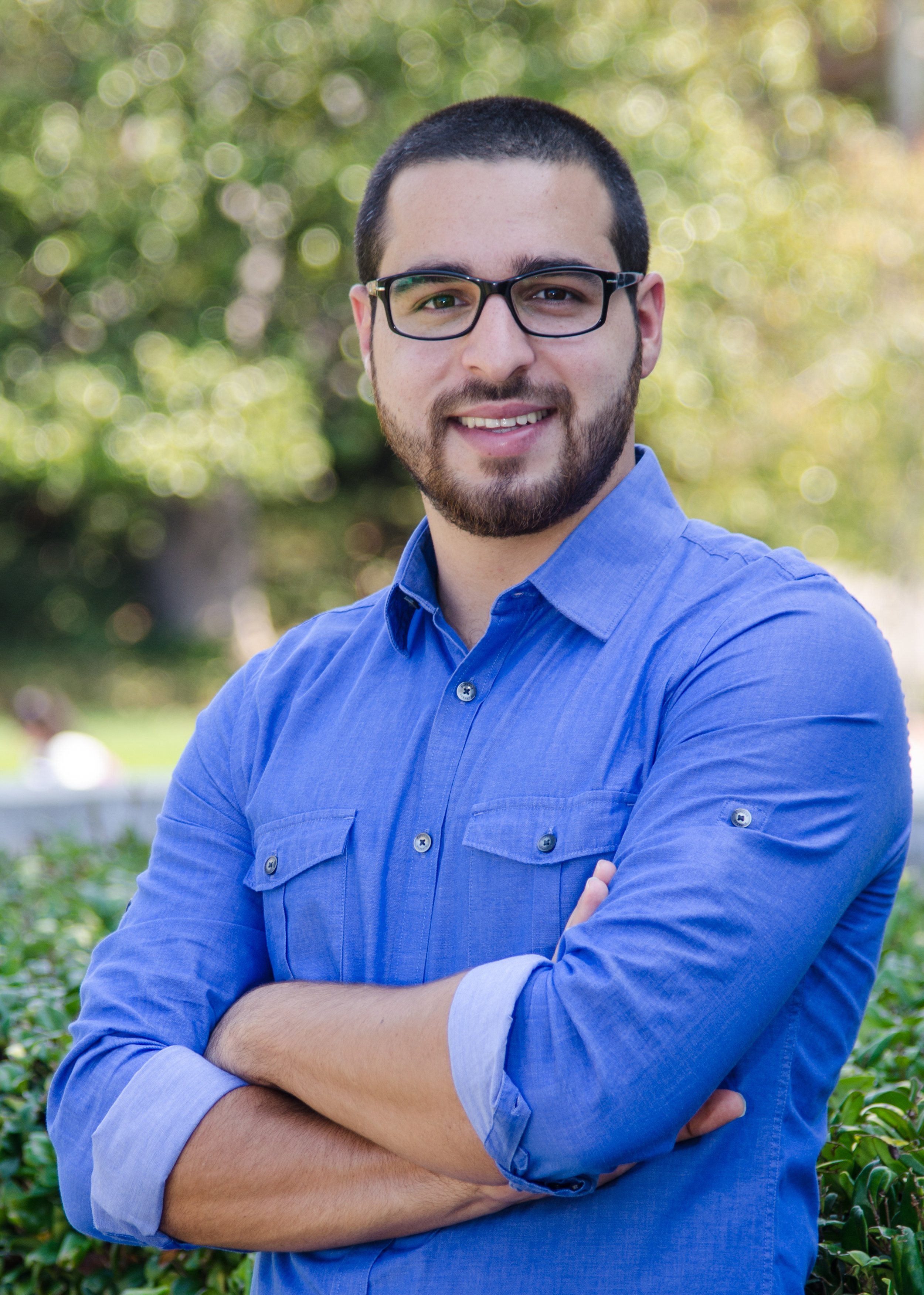"Paul Hadweh, student facilitator of the course ""Palestine: A Settler-Colonial Analysis"""